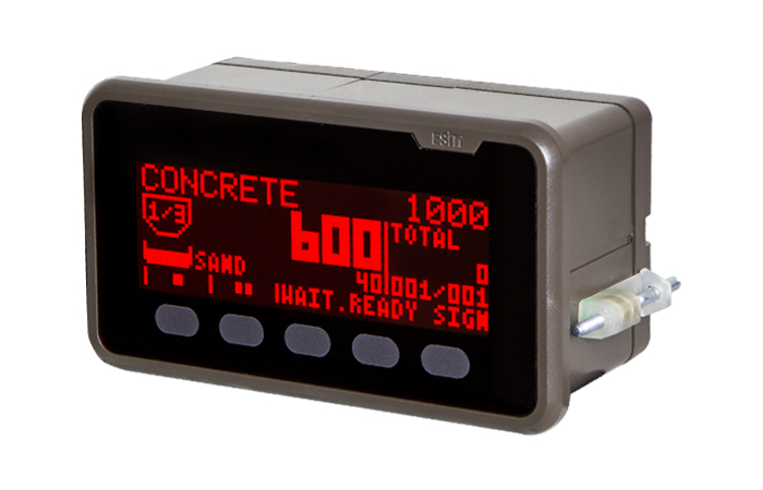 indicators and control devices, weigh indicators ,eci-ba recipeing featured weighing controller