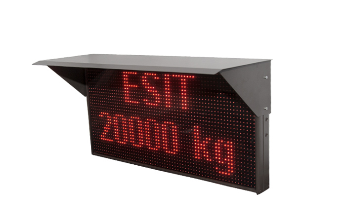 esit RDA-100 Message Panel